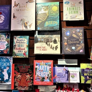 Childrens Hardback Books Display
