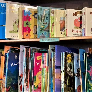 Childrens Lift The Flap Picture Books
