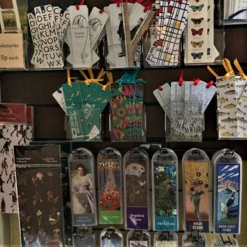 Gift Stationery Bookmarks Pomegranate Museums And Galleries Display