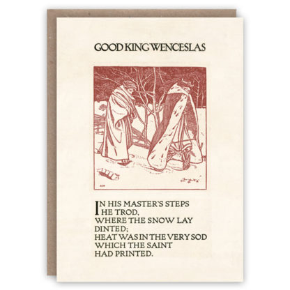 Cards Pattern Book Good King Wencelas