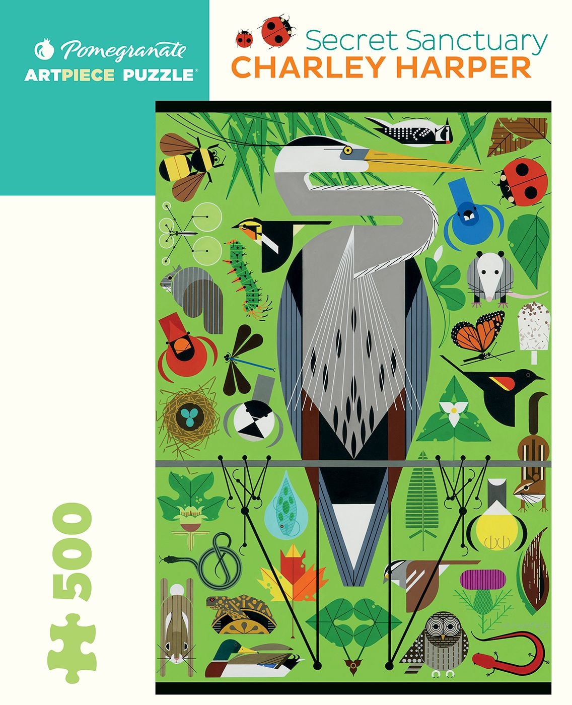 Jigsaw Charlie Harper 500 Piece