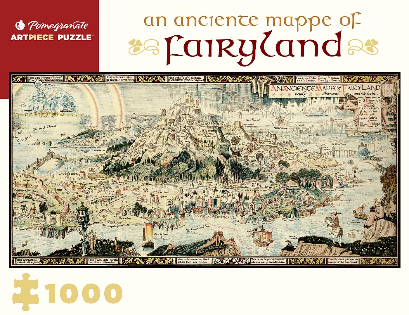 Jigsaw Fairyland 1000 Piece