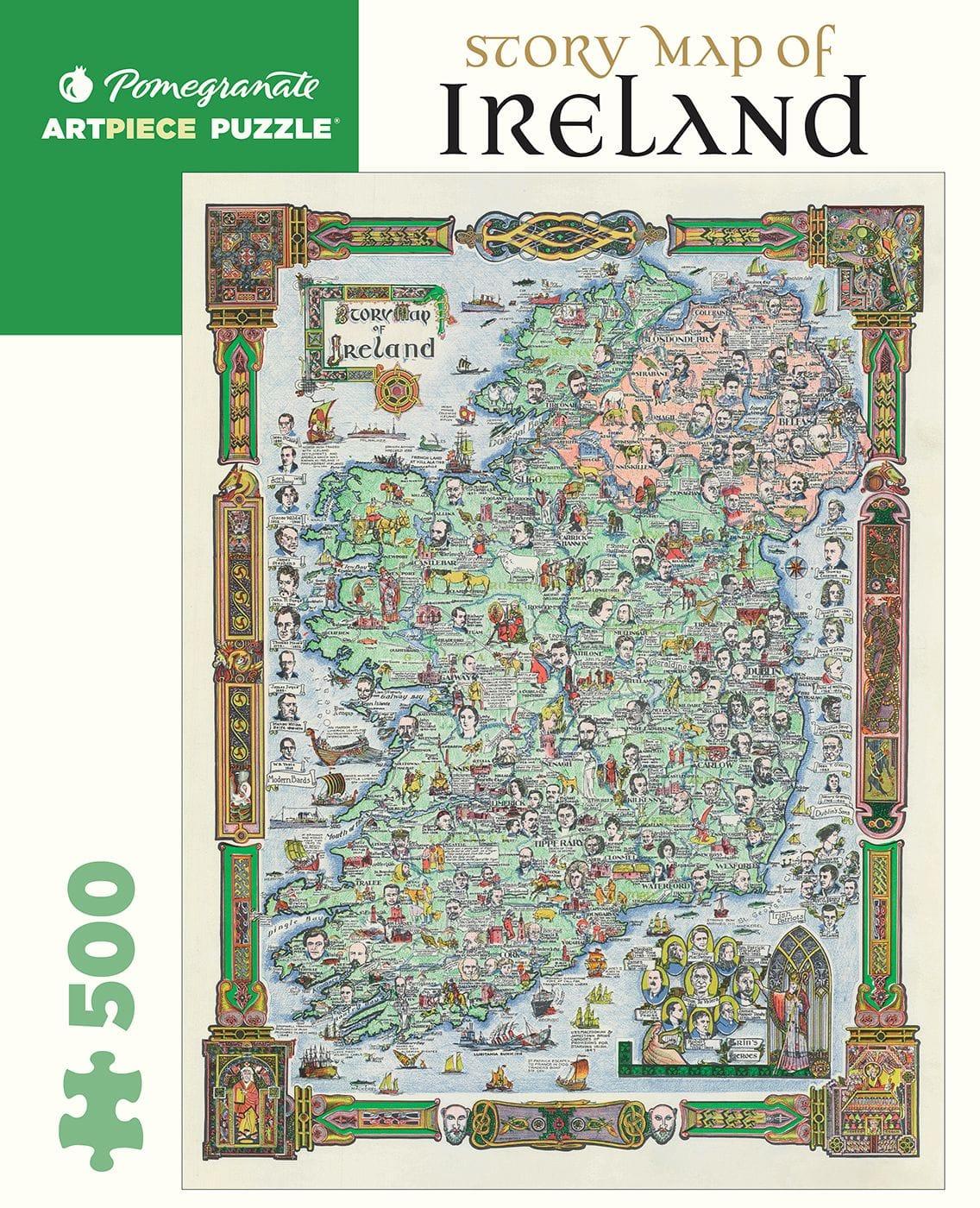 Jigsaw Ireland 500 Pieces