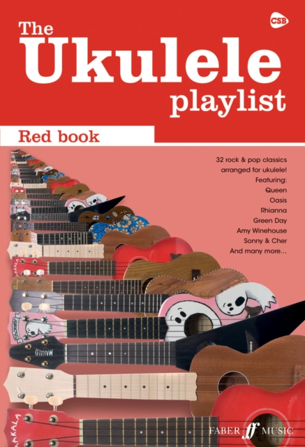 9780571533909 Ukulele Playlist Red Book