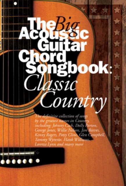 9780711995451 Big Acoustic Guitar Book Classic Country