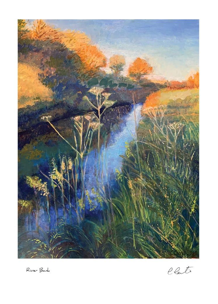 River Bank Col2 Conti Mistletoe Card