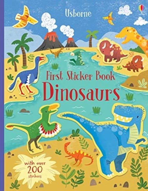9781474968263 First Sticker Book Dinosaurs