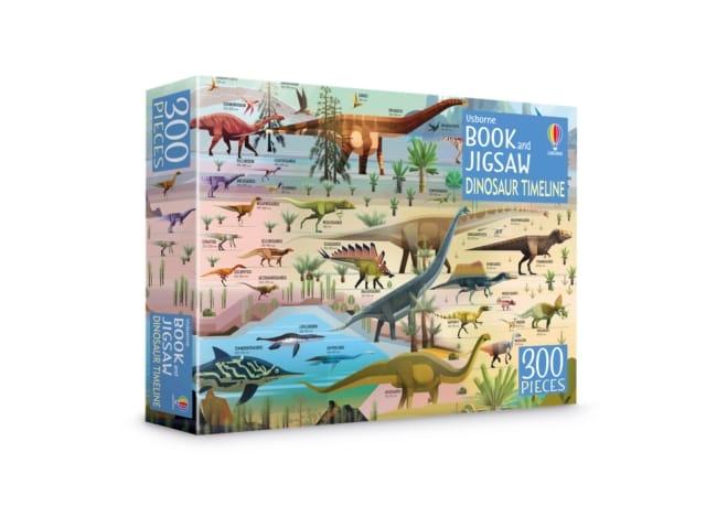 9781474986908 Dinosaur Timeline Book Jigsaw 00 Pieces