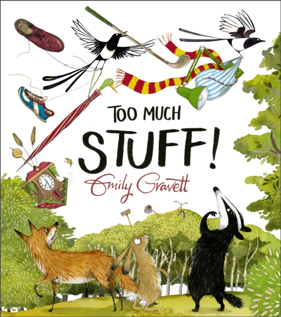 9781509857357 Too Much Stuff Emily Gravett