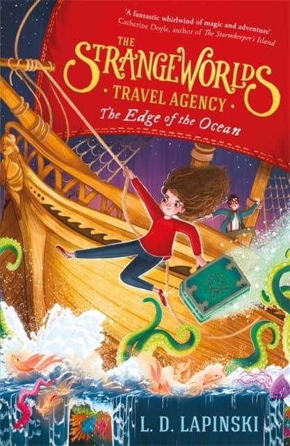 9781510105959 Strange Worlds Travel Agency The Edge Of The Ocean Lapinski
