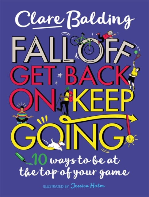 9781526363411 Fall Off Get Back On Keep Going Clare Balding