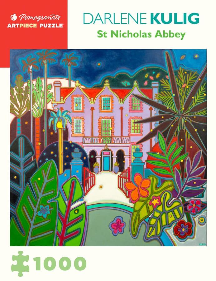 Darlene Kulig St Nicholas Abbey 1000 Piece Jigsaw Puzzle