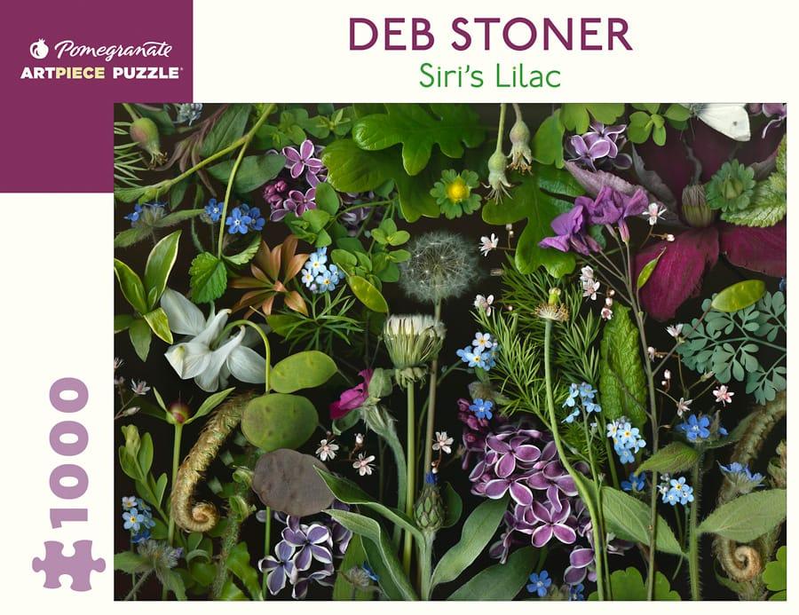 Deb Stoner Siri Rsquo S Lilac 1000 Piece Jigsaw Puzzle
