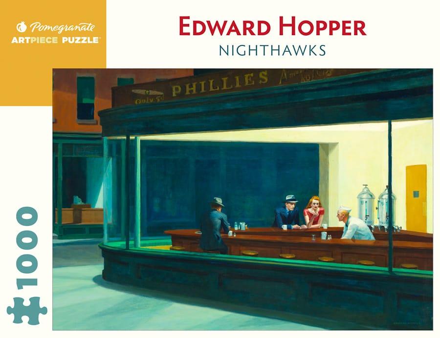 Edward Hopper Nighthawks 1000 Piece Jigsaw Puzzle