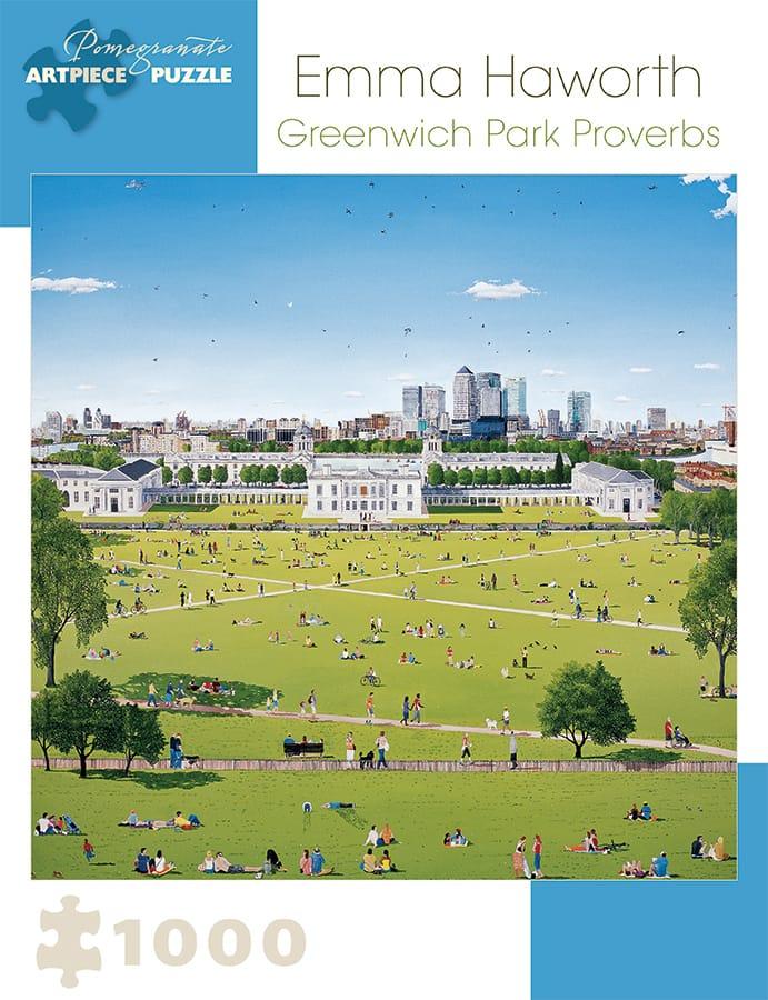 Emma Haworth Greenwich Park Proverbs 1 000 Piece Jigsaw Puzzle