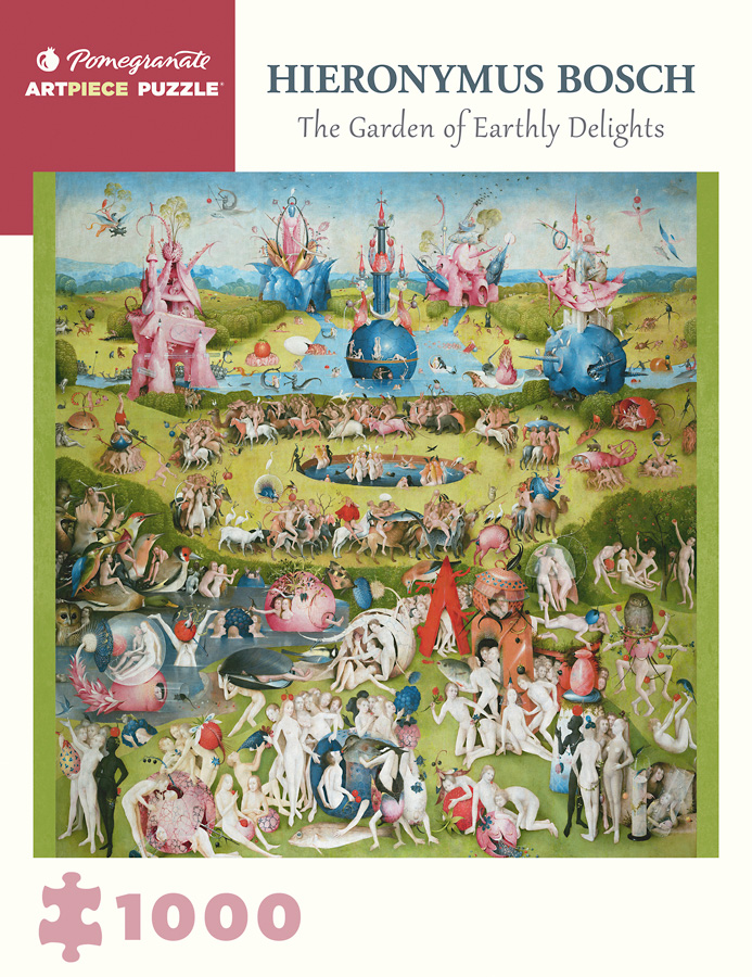 Hieronymus Bosch The Garden Of Earthly Delights 1000 Piece Jigsaw Puzzle