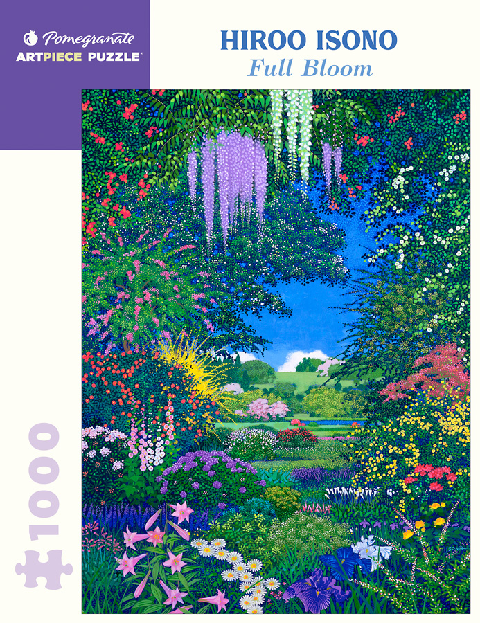 Hiroo Isono Full Bloom 1000 Piece Jigsaw Puzzle