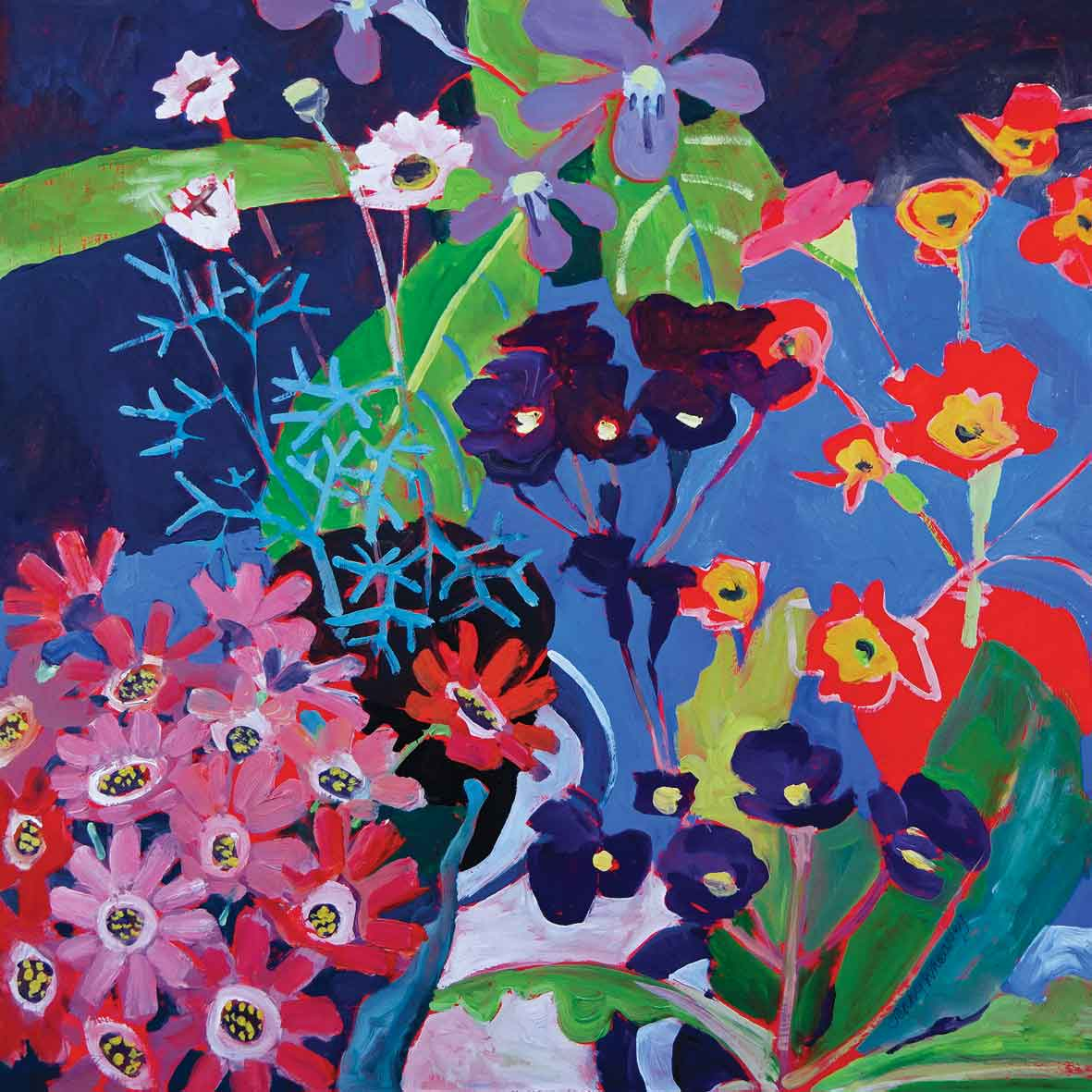Jw016 Seaside Flowers By Jenny Wheatley