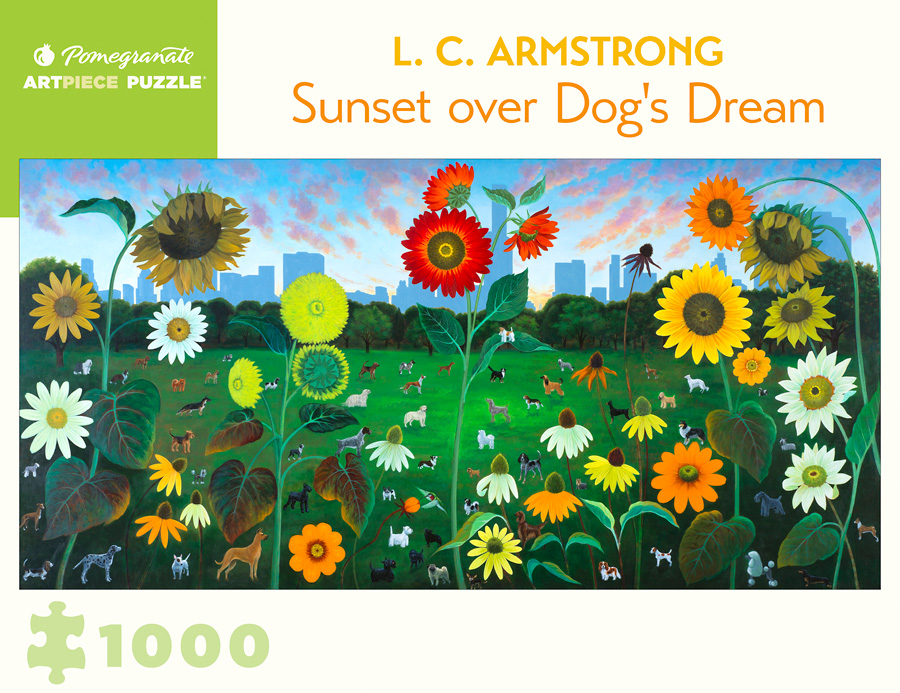 L C Armstrong Sunset Over Dog Rsquo S Dream 1000 Piece Jigsaw Puzzle