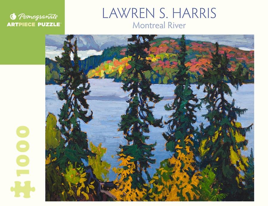 Lawren S Harris Montreal River 1000 Piece Jigsaw Puzzle