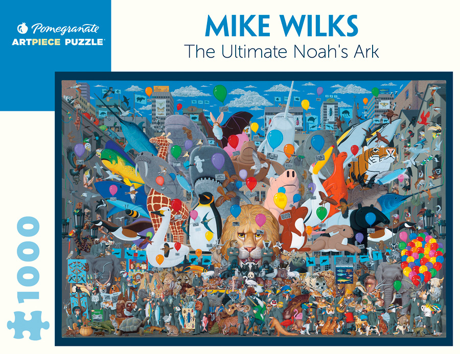 Mike Wilks The Ultimate Noah Rsquo S Ark 1 000 Piece Jigsaw Puzzle