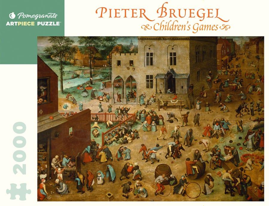 Pieter Bruegel Children Rsquo S Games 2000 Piece Jigsaw Puzzle