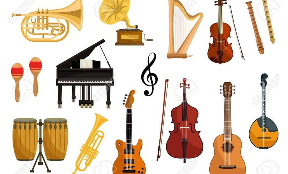 Sheet Music Image Instruments