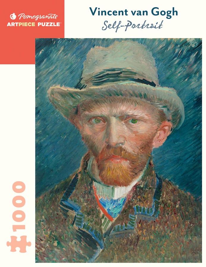 Vincent Van Gogh Self Portrait 1000 Piece Jigsaw Puzzle