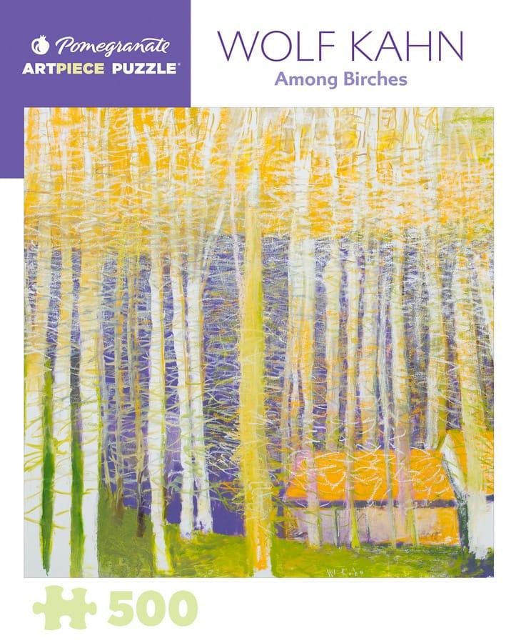 Wolf Kahn Among Birches 500 Piece Jigsaw Puzzle