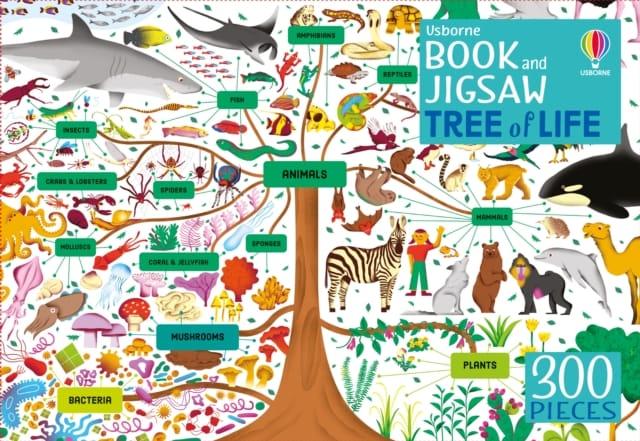 9781474992145 Tree Of Life Book Jigsaw Usborne