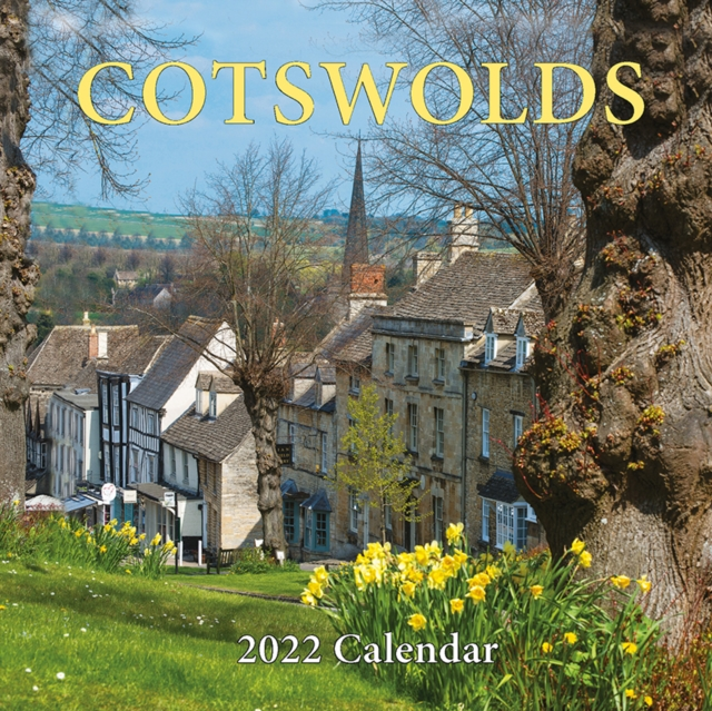 9781912584536 Cotswolds 2022 Calendar Small Square