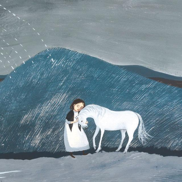 Green Pebble Vl1 54 20 White Horse