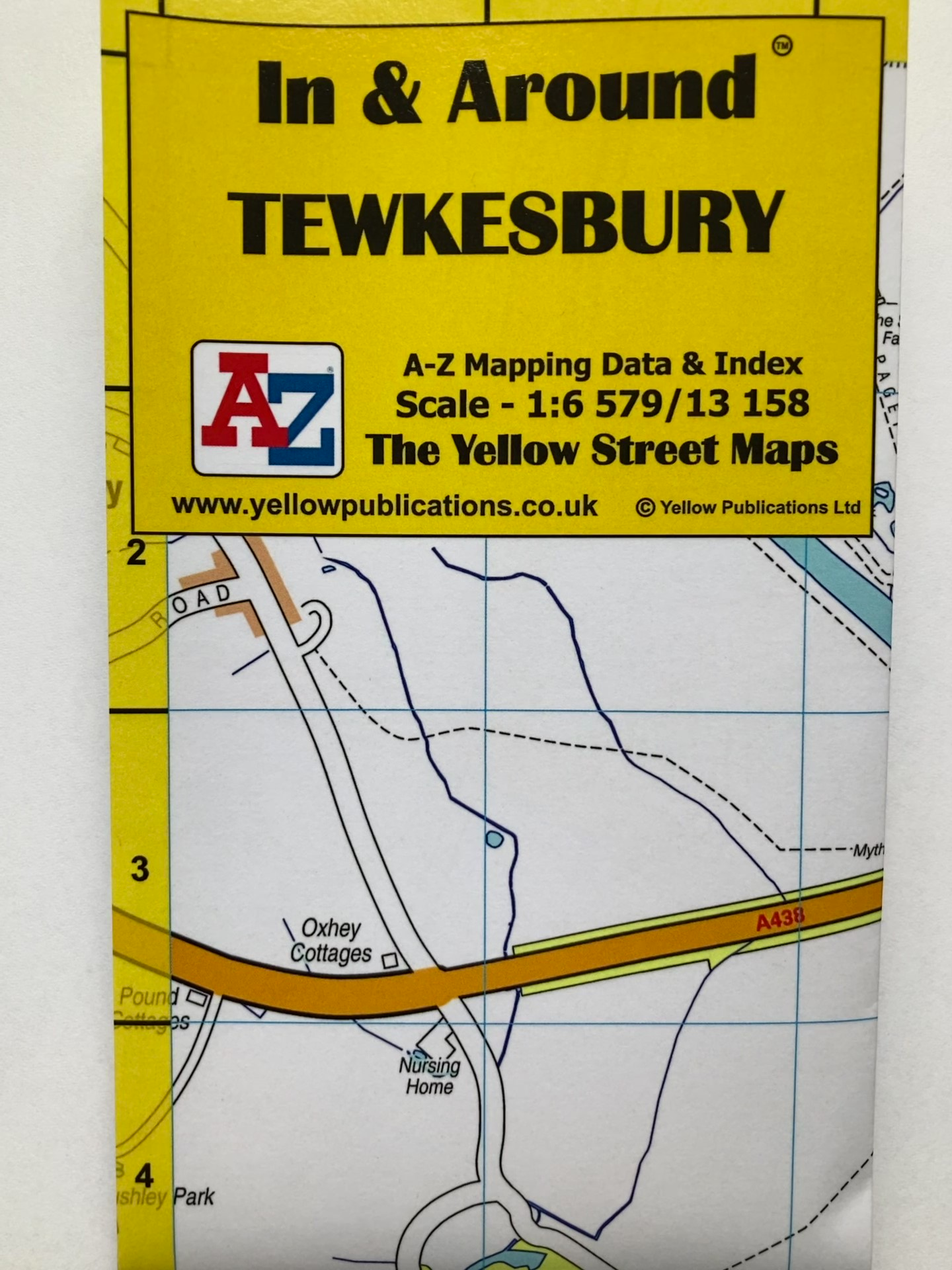 In And Around Tewkesbury Map