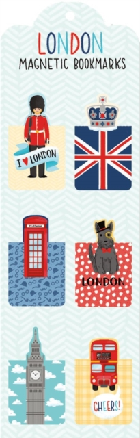 9780735341814 London Magnetic Bookmark