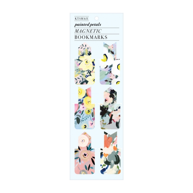9780735357525 Painted Petals Magnetic Bookmark