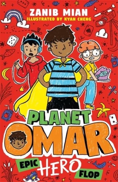 9781444960983 Planet Omar Epic Hero Flop Mian