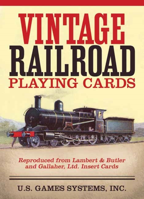 9781572816169 Vintage Railroad Playing Cards