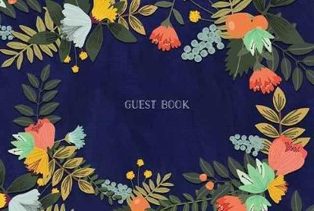 9781631063831 Floral Guest Book