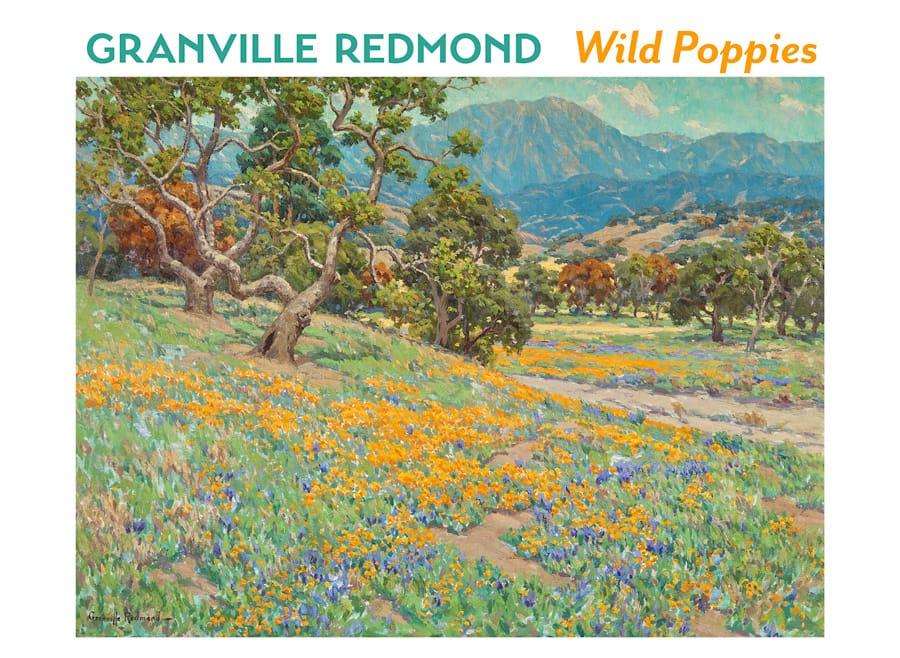 Granville Redmond Wild Poppies Boxed Notecards 20