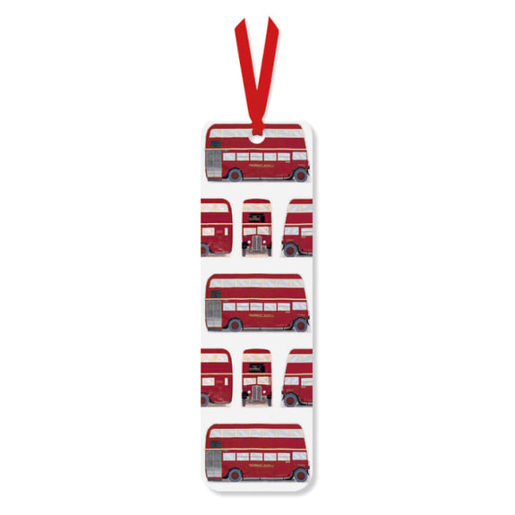 London Bus Bookmark