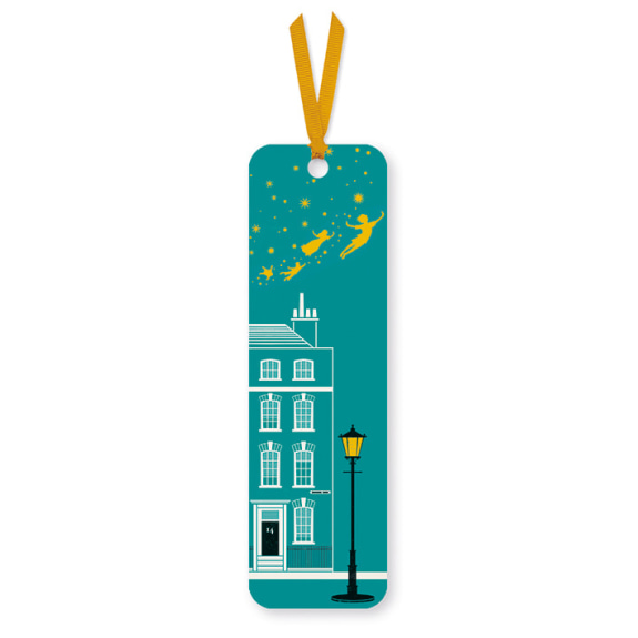 Peter Pan House Bookmark