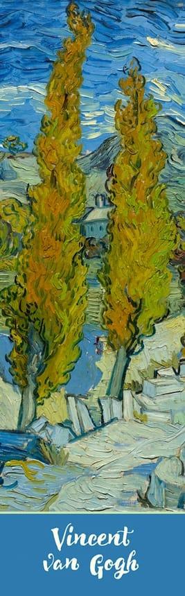 Vincent Van Gogh The Poplars Bookmark Pomegranate