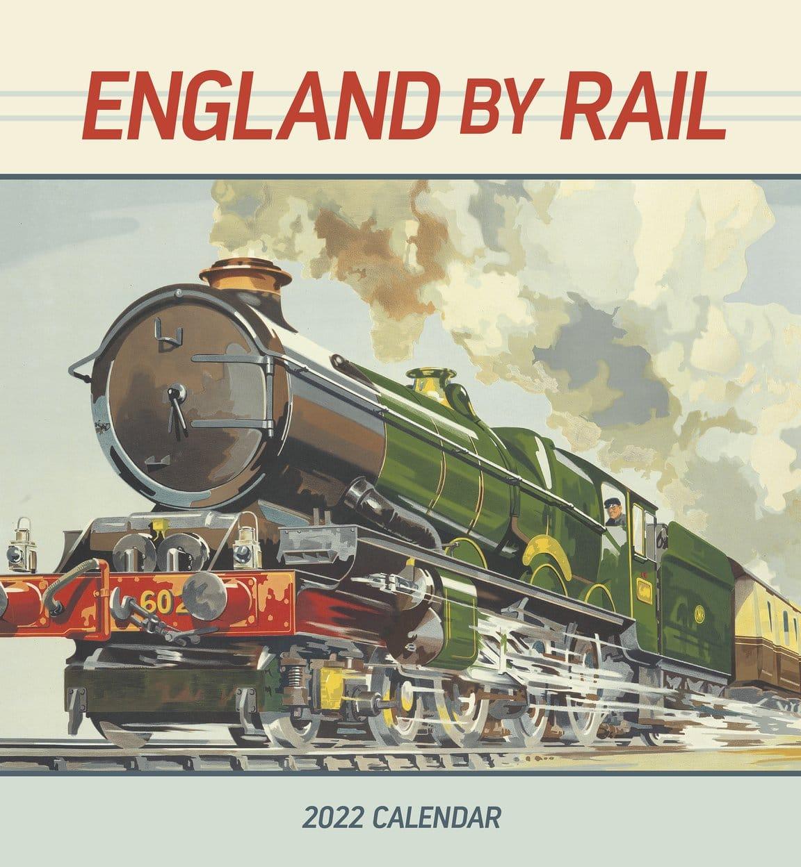 England Rail 2022 Calendar
