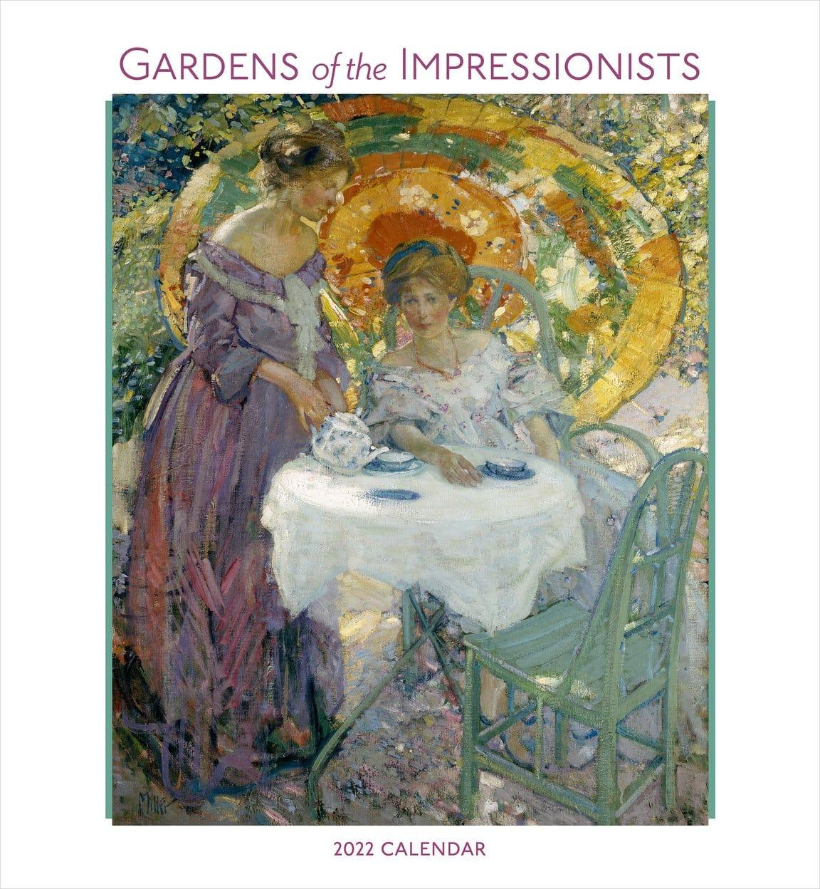 Gardens Impressionists 2022 Calendar