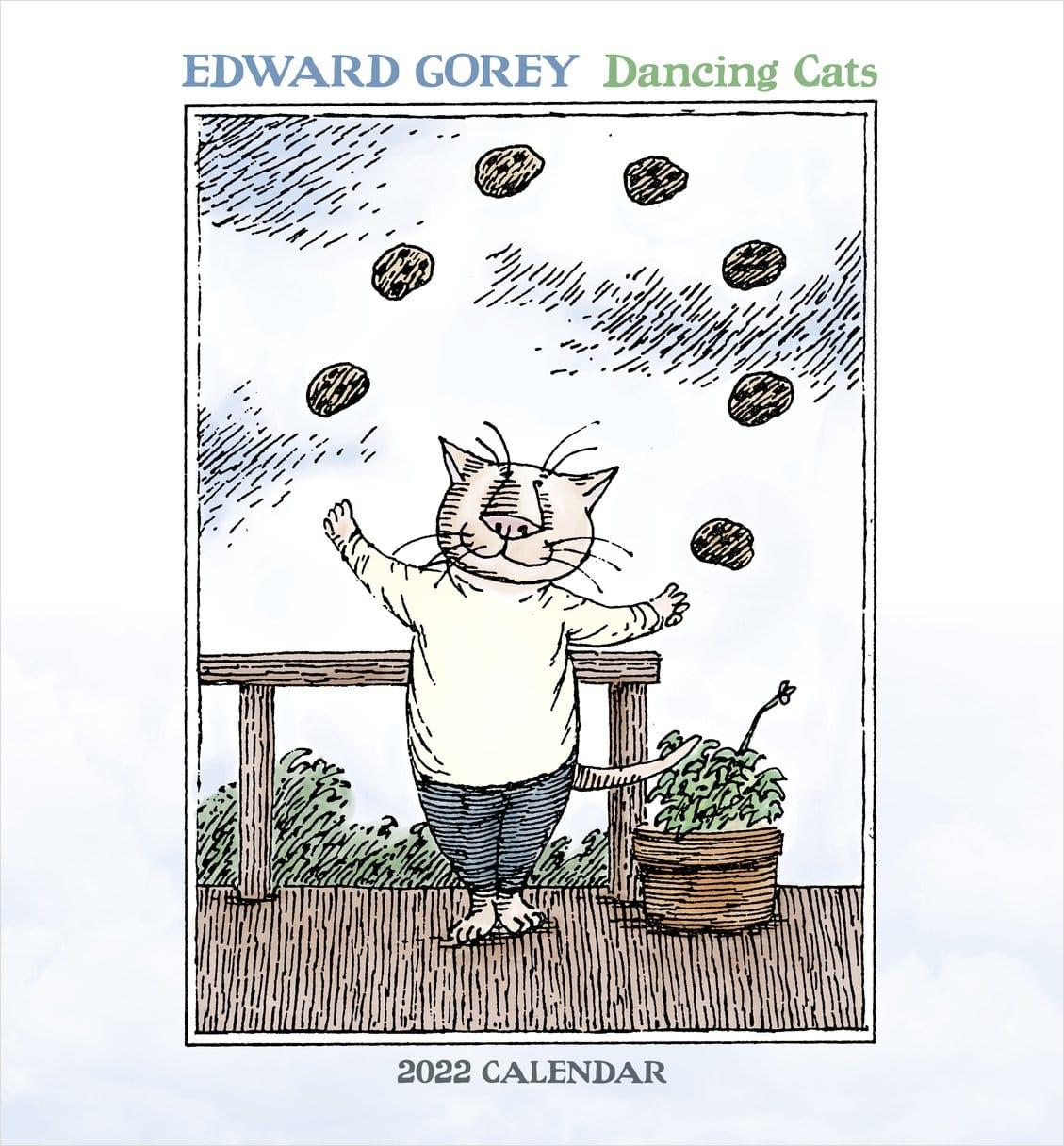 Gorey Dancing Cats 2022 Calendar