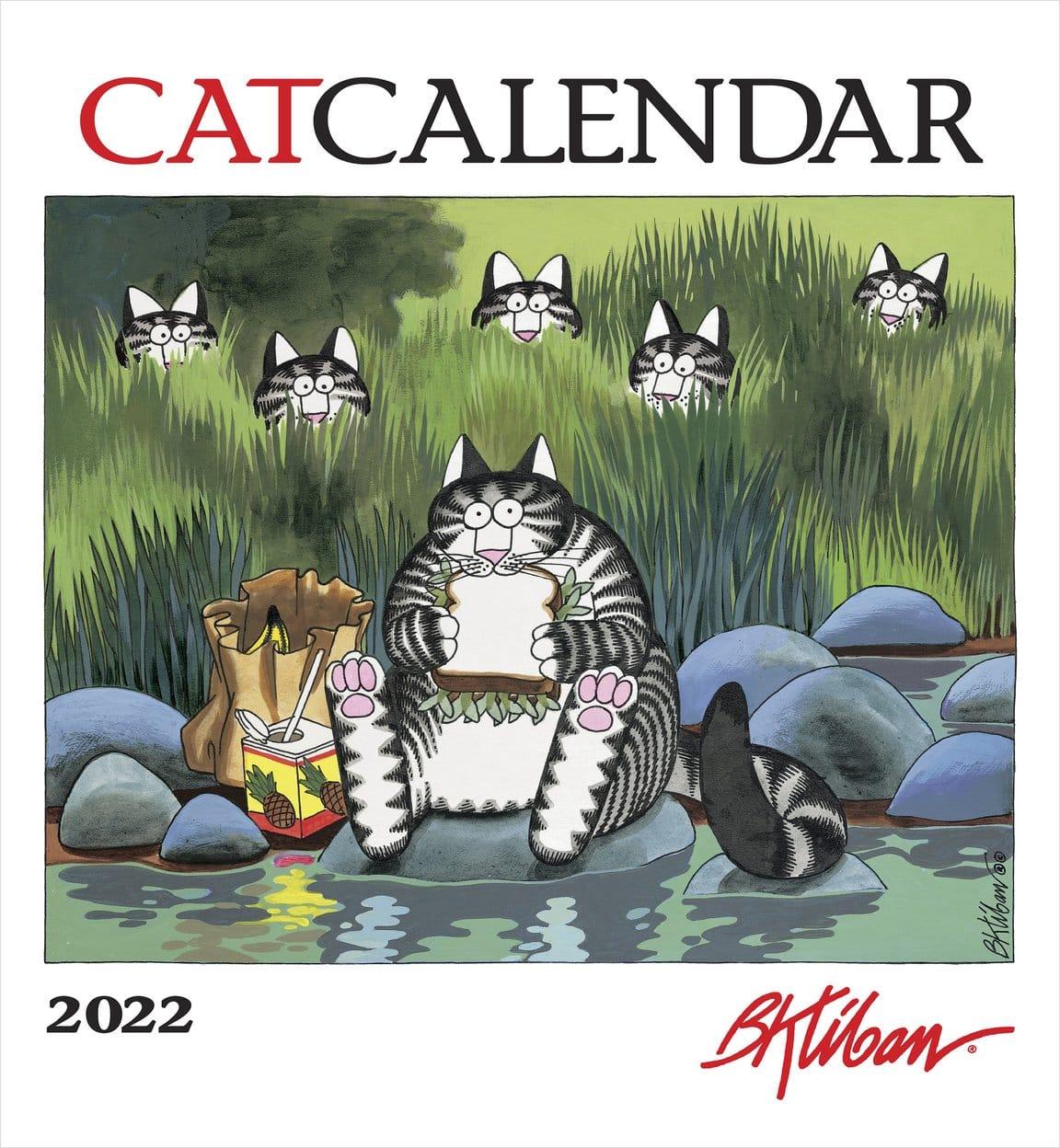 Kilban Cat 2022 Calendar Large