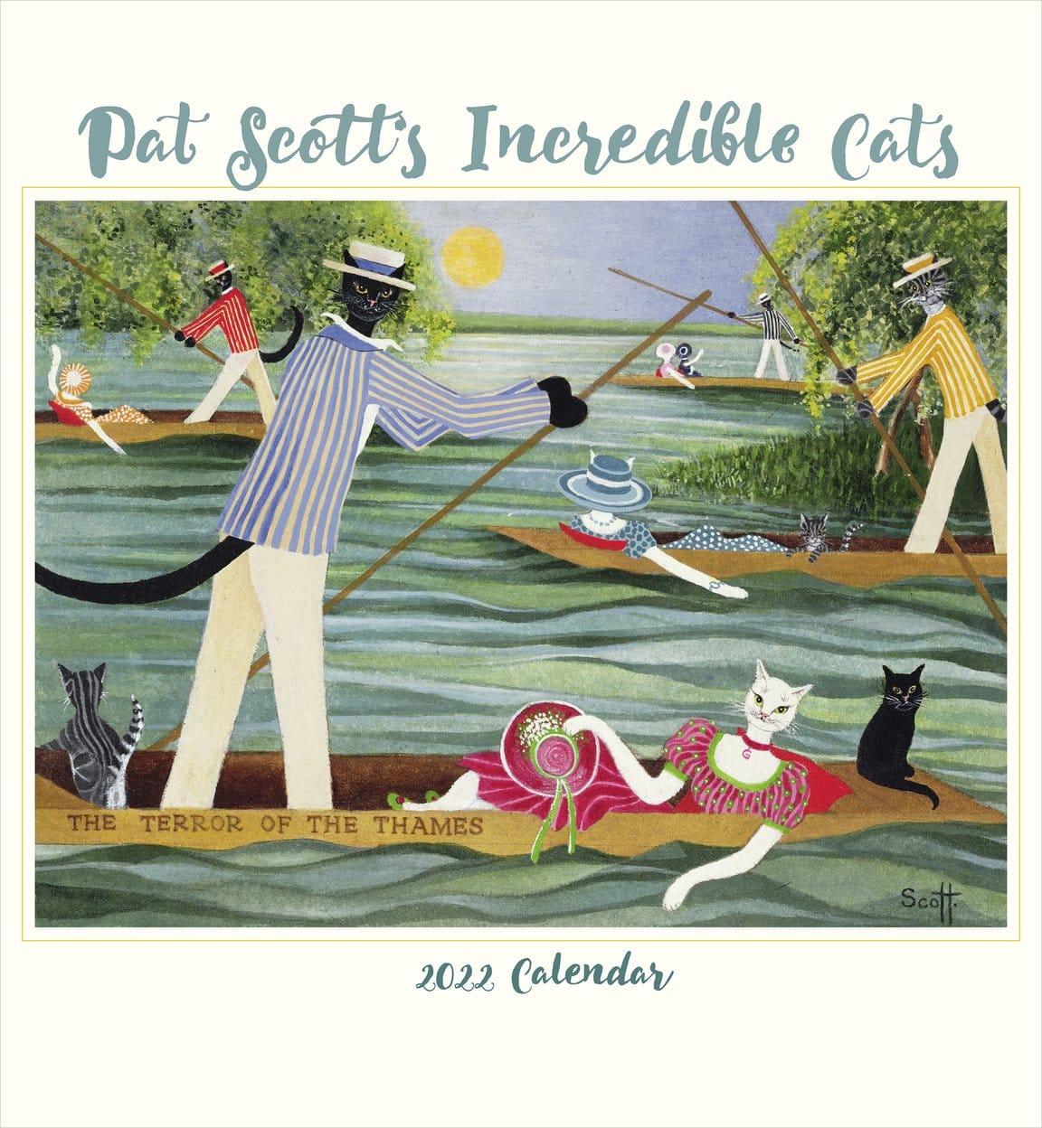 Scotts Incredible Cats 2022 Calendar