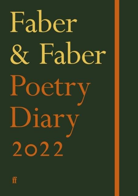 9780571367337 Poetry Diary 2022