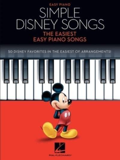 9781705110331 Simple Disney Songs