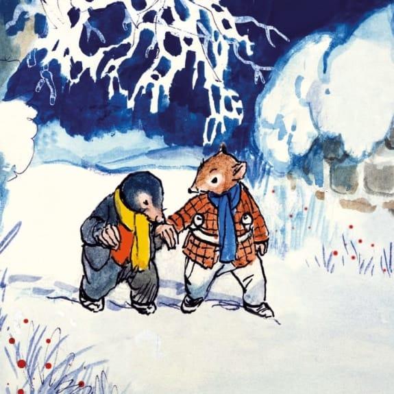 Christmas Card Pack Ratty Mole